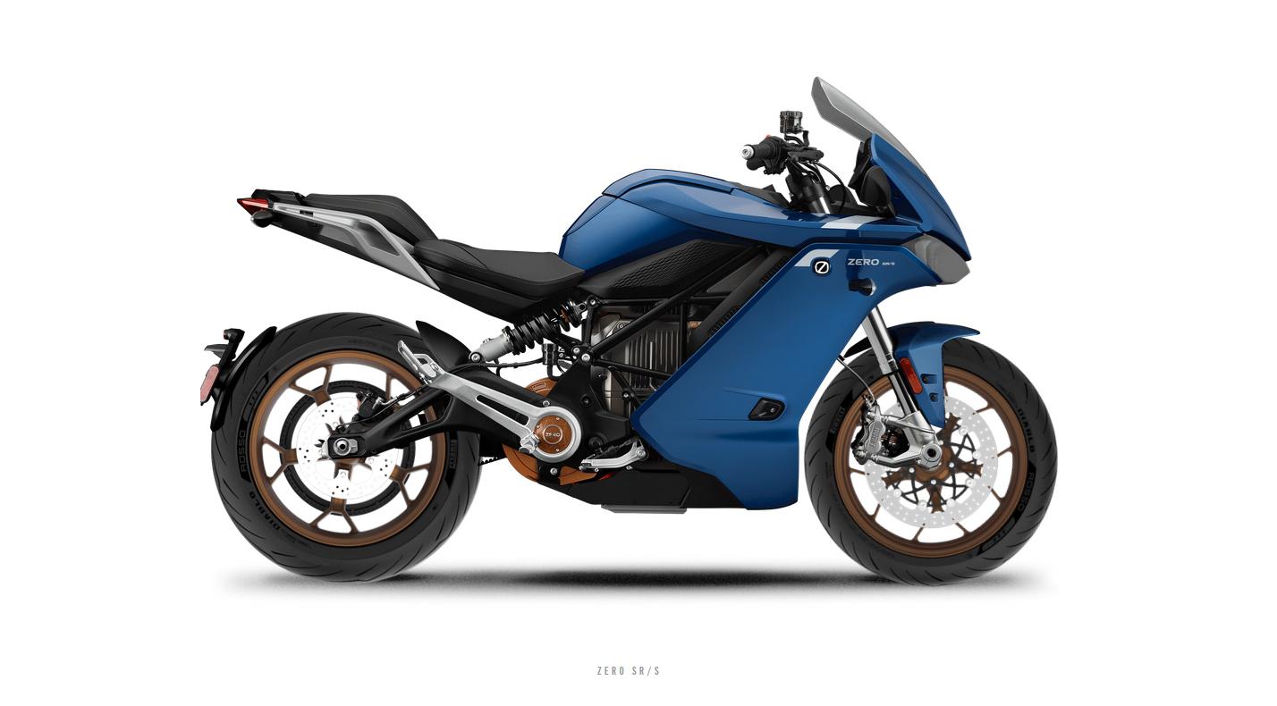 Zero elektrische motor SR-S