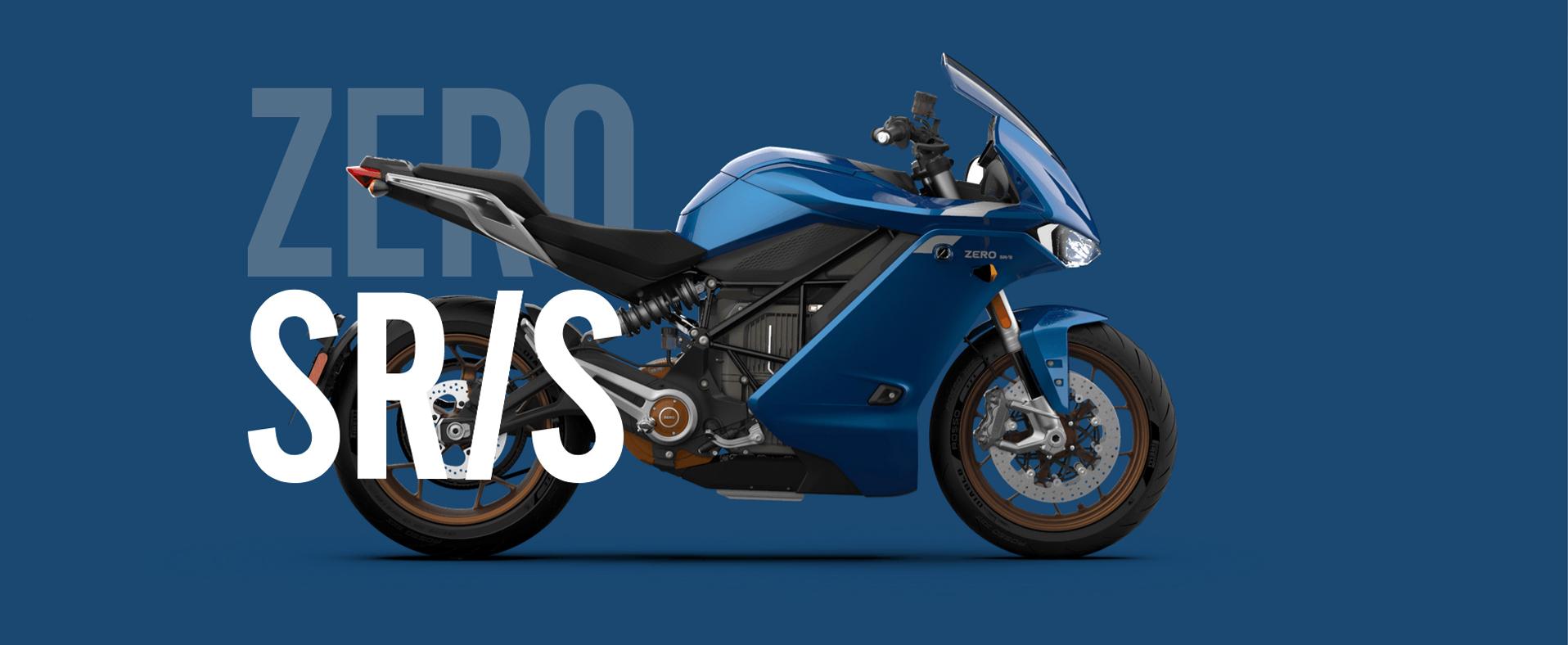 zero elektrische motorfiets srs